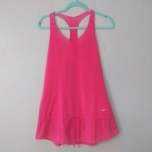Nike dri fit hot pink tennis/ running dress Medium